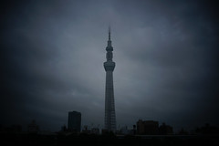 DSC01603 (Zengame) Tags: cloud tower japan architecture zeiss tokyo cloudy sony landmark cc jp creativecommons    rx     skytree rx1 imado    tokyoskytree  rx1r rx1rm2 rx1rmark2