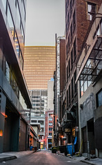 alley trash (pbo31) Tags: sanfrancisco california city summer urban panorama color june trash alley nikon large panoramic financialdistrict cbd stitched 2016 boury d810 halleckstreet