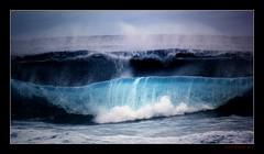 Choppy (Seeing Things My Way...) Tags: surf waves breakers swell seaside sea ocean gariebeach nsw australia