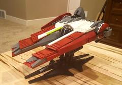 The Wanderer's Shadow (TheNerdyOne_) Tags: starwars lego rebels starfighter