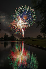 DSC_4016 (fellajr) Tags: family water night golf fun evening fireworks 4th july course hazzard deerpark 2016