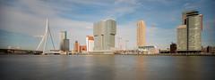Wilhelmina Pier and Erasmus Bridge (Ralf Muennich) Tags: rotterdam wilhelminapier erasmusbridge erasmusbrug