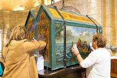 Devotion (Luca Quadrio) Tags: france shrine europe colours religion saints devotion provence gypsy pilgrimage veneration adoration camargue saintesmariesdelamer