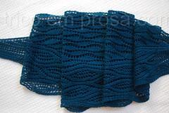 Xale Estuary (tricô em prosa) Tags: xale renda tricô algodão knitty grátis shawl lace cotton free knitting knit handmade handknit