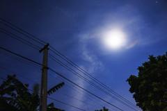 Saturday Moonlight (Dng Thnh Tm) Tags: moon moonlight night star blue sky nightsky longexposure landscapes