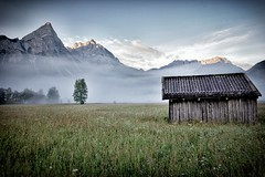 Foggy Ehrwald morning (Guido Havelaar) Tags: austria tirol oostenrijk ehrwald moosweg