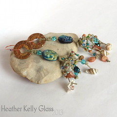 13.05.06_E19_GhostoftheNavigator_01 (Heather Kelly Glass) Tags: net glass skull olive salmon shell peacock jewellery copper seashell earrings nautical rhyolite knots fishingnet freshwaterpearl piratetreasure 4ply 2013 waxedlinen botmo ghostofthenavigator flamepatina 52pairchallenge curiousbead