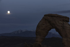 Moonrise Delicate Arch (GR Smith) Tags: daarklands ringofexcellence