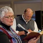 "<b>Singing Justice Together</b><br/> Photo by Aaron Zauner<a href=""http://farm8.static.flickr.com/7287/8726661983_154bf4d1da_o.jpg"" title=""High res"">∝</a>"