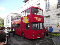 Newport Transport City Sightseeing Open Top Bus (5asideHero) Tags: county open top transport double newport afc scania 113 decker