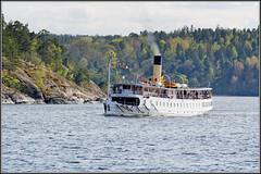 (Robert Hrlin) Tags: spring sweden stockholm balticsea sverige steamboat stersjn 1911 vr nacka ngbt nyckelviken saltsjn blidsundsbolaget ssblidsund signalstll kolrk