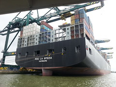 La Spezia @ port of Antwerp (M'neer B) Tags: phoneshot