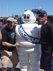 The Michelin Man (toyzrus8) Tags: monterey lagunaseca alms americanlemansseries mazdaraceway