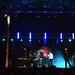 Vista del escenario durante el concierto