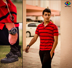 Tariq Salah (Raed Visuals) Tags: red walking shoe 50mm watch uae class chain arab egyptian arabian swag luxury tariq doha qatar clack salah classy raed choes visulas
