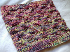 Star-Crossed Slouchy Snood (n'ami - atelierknits) Tags: knitting gift 2012 malabrigo