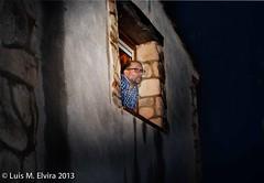 Unnamed Project (luisephoto) Tags: espaa amigos mujer europa gente jr zaragoza retratos crisis hombre aragn litago