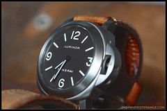 IMG_9133 (bakelite1) Tags: brown dial pam 116 chocolat panerai titane luminor bettarini pam116