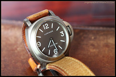 IMG_9115 (bakelite1) Tags: brown dial pam 116 chocolat panerai titane luminor bettarini pam116