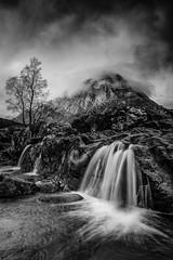 The Buachaille (Mark Littlejohn) Tags: bw silver landscape mono scotland glencoe d800 lightroom buachailleetivemor 24mm28d efex