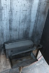Inside one of the urinals (tomman) Tags: railroad yards urban yard train foundry factory decay albuquerque rail tvshowlocation railyard boiler filmlocation revitalize macgruber breakingbad terminatorsalvation