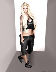 iBish (Purz Nirvana) Tags: fashion blog punk mesh zombie suicide blogger tattoos clothes sl just secondlife blonde karma piercings photoart pekka razor gok magnetized fashionblog gimpart slblog secondlifefashion secondlifeblog balkanik fashioninsl purz alvulo gimpartist purznirvana hurryupchangeblog