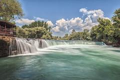Manavgat Waterfall (Demis de Haan) Tags: water turkey 1 waterfall long exposure day cloudy dam 110 nd sec manavgat oymapinar