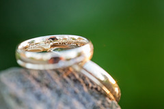 wedding rings (Fotasca) Tags: wedding sunset macro closeup availablelight rings makro hochzeit ringe