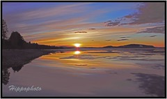 strsjn, stersund/Sweden (hippophoto) Tags: sunset sea sky sun love nature colors beautiful canon landscape countryside spring amazing view sweden wildlife awesome country natur adventure sverige charming jmtland skyer vr friluftsliv landskap elv stersund vakkert canoneos550
