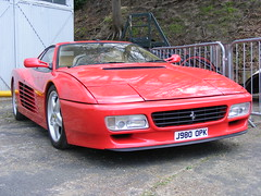 2357 - Ferrari Testarossa - J98 OPK - DSCF7885 (Call the Cops 999) Tags: uk england 6 holiday museum united may bank kingdom exhibit ferrari surrey monday j98 testarossa brooklands opk 2013 dscf7885