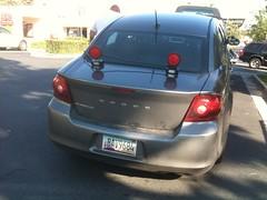 incidente de hoy con el auto :( - muy bueno como les ponen las luces, es obligatorio!