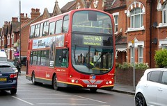 14 May Kingston Road (togetherthroughlife) Tags: bus may wimbledon 163 londongeneral 2013 wvl209