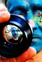 (Marta Marley) Tags: blue eye azul tattoo lens ojo lente tat tatuaje facetattoo tuerto facialtattoo tatuajefacial martamarley