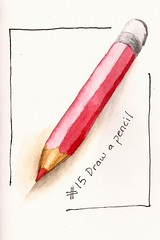 #15 Draw a pencil (sarabeee) Tags: