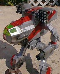 twolf_detail2 (Ron Perovich) Tags: robot lego mechwarrior mecha mech batttletech