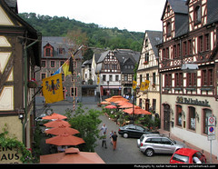 Altstadt, Oberwesel (JH_1982) Tags: altstadt oberwesel oldtown old town timberframes fachwerk fachwerkhuser historish historic mittelrhein oberes mittelrheintal germany allemagne alemania germania