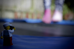 bounce (legoman-iow) Tags: socks lego sony bounce
