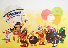Vintage 1978 Hostess Book Cover (gregg_koenig) Tags: old cakes fruit vintage pie book kid king chief suzy cupcake cover snack captain 70s hostess 1978 twinkie ho 1970s q ding dong magician ibc chocodiles