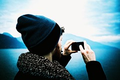 Bellagio (cranjam) Tags: portrait lake mountains film apple montagne lago lomo lca xpro lomography kodak slide bellagio tucker lakecomo lagodicomo iphone elitechrome100