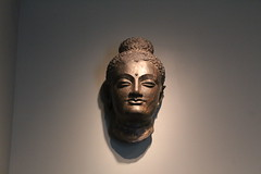 Asian_Art_Museum_03_31_2013_001 (AlejandroFranceschi) Tags: sculpture india art museum asian asia buddhist faith religion relief jade weapon pottery dagger myth throne relic koran qran illustratedmanuscript