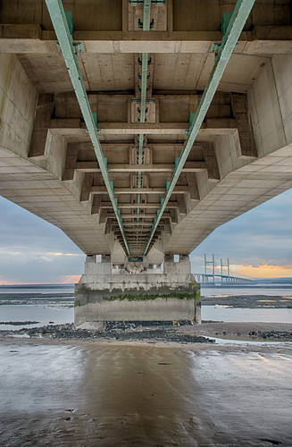 Beneath the Second Severn Crossing