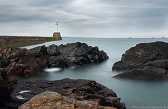 "Aberdeen Breakwater (""Mr Mike"") Tags: longexposure lighthouse scotland nikon aberdeen breakwater mrmike torrybattery tamron1750f28 nd110 tenstop"