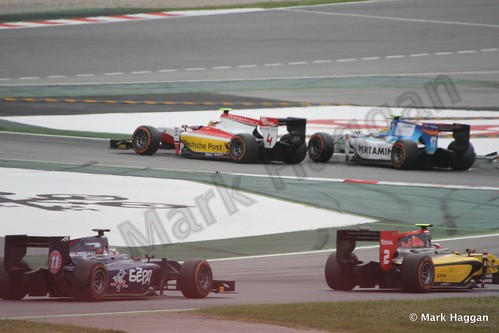 Sunday's GP2 race at the 2013 Spanish Grand Prix