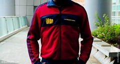 The Enjoyable Adidas Originals Barcelona Track Top by EnLawded.com (The Lawd for EnLawded) Tags: world barcelona madrid espaa fashion sport vintage fan blog spain etoo style gear catalonia retro collection originals celebration gaud aragon greatest adidas item swag puyol rare exclusive catalan collector barna garment messi ciutatcomtal iniesta xaxi uploaded:by=flickrmobile flickriosapp:filter=nofilter enlawded caloa