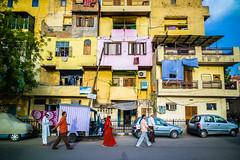 Inside of Delhi (SungsooLee.com) Tags: street leica trip travel houses sunset people india colorful candid delhi 28mm journey asph f28 m9 olddelhi elmarit mydays m9p lensblr mydaystravel mydaysphoto