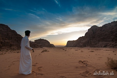 (3bdullah al-shetwi) Tags: sunset time silhouettes arabia