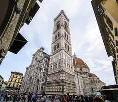 "Florence #4 - The Cathedral ""Santa Maria del Fiore"" (bigmike.it) Tags: florence tuscany italy firenze centro storico old city duomo campanile cupola cathedral belltower church brunelleschi tokina 116 1116 stitched panorama"