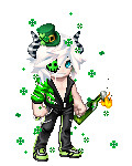 Requiem Shamrock (Hallowtween RP) Tags: avatar avi requiem anarchist shamrocks gaia stpatricksday gaiaonline req dionysia hallowtween requiemdionysia