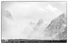 storm_bw_06 (StephenWilliDesigns) Tags: blackandwhite snow storm mountains weather jackson wyoming tetons grandteton jacksonhole grandtetonnationalpark
