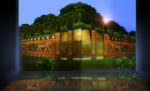 "Jardines colgantes de Babilonia • <a style=""font-size:0.8em;"" href=""http://www.flickr.com/photos/30735181@N00/8745403432/"" target=""_blank"">View on Flickr</a>"